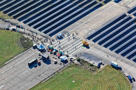 Luftaufnahme Fliegerhorst
