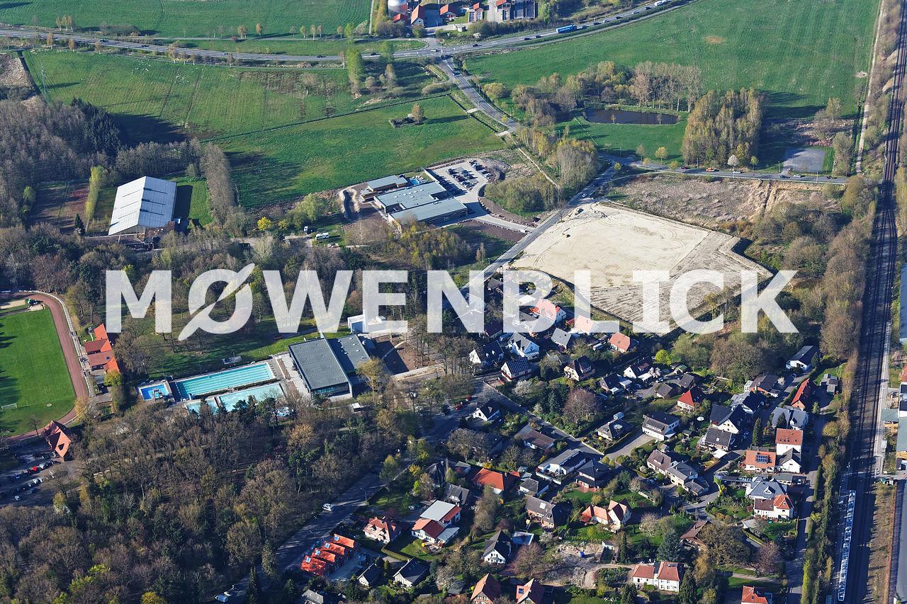 Schwimmbad Wildeshausen Luftbild