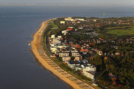 Luftaufnahme Stadt Cuxhaven