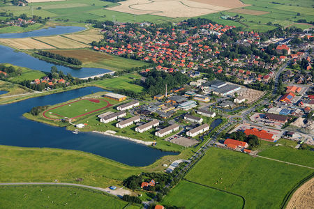Luftaufnahme Wangerland