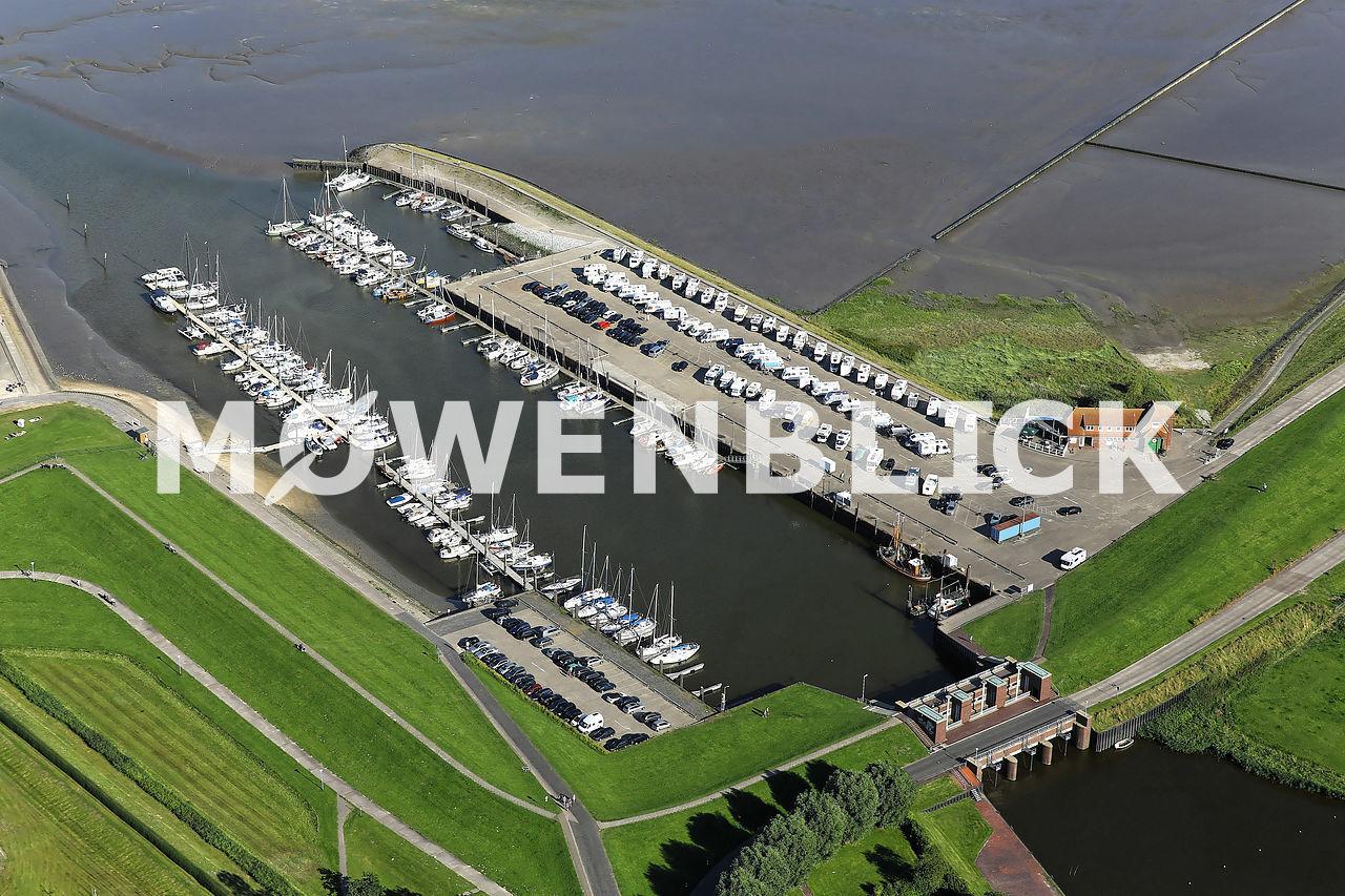 Horumersieler Yachtclub Luftbild