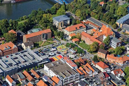 Luftaufnahme Schloßplatzfest
