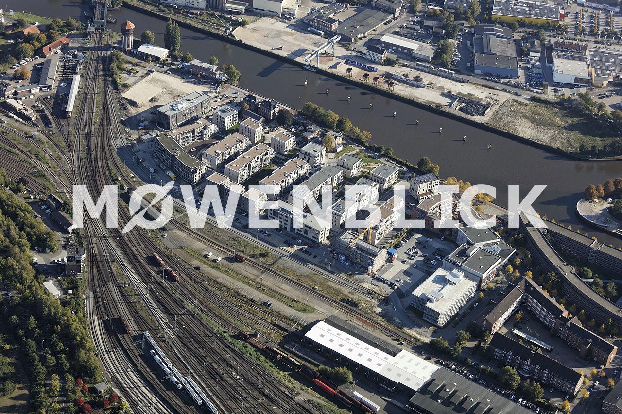 Speicherstadt Luftbild