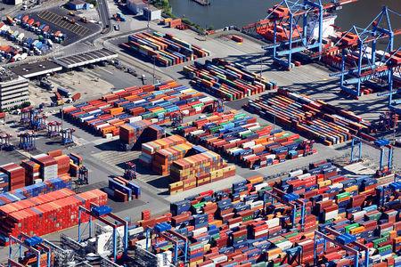 Luftaufnahme Container Terminal Burchardkai