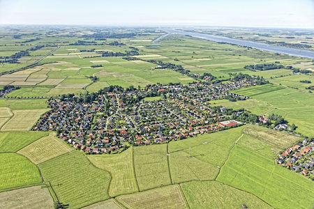 Luftaufnahme Golzwarden