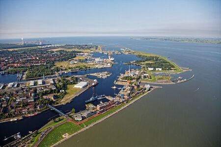 Luftaufnahme Stadt Wilhelmshaven