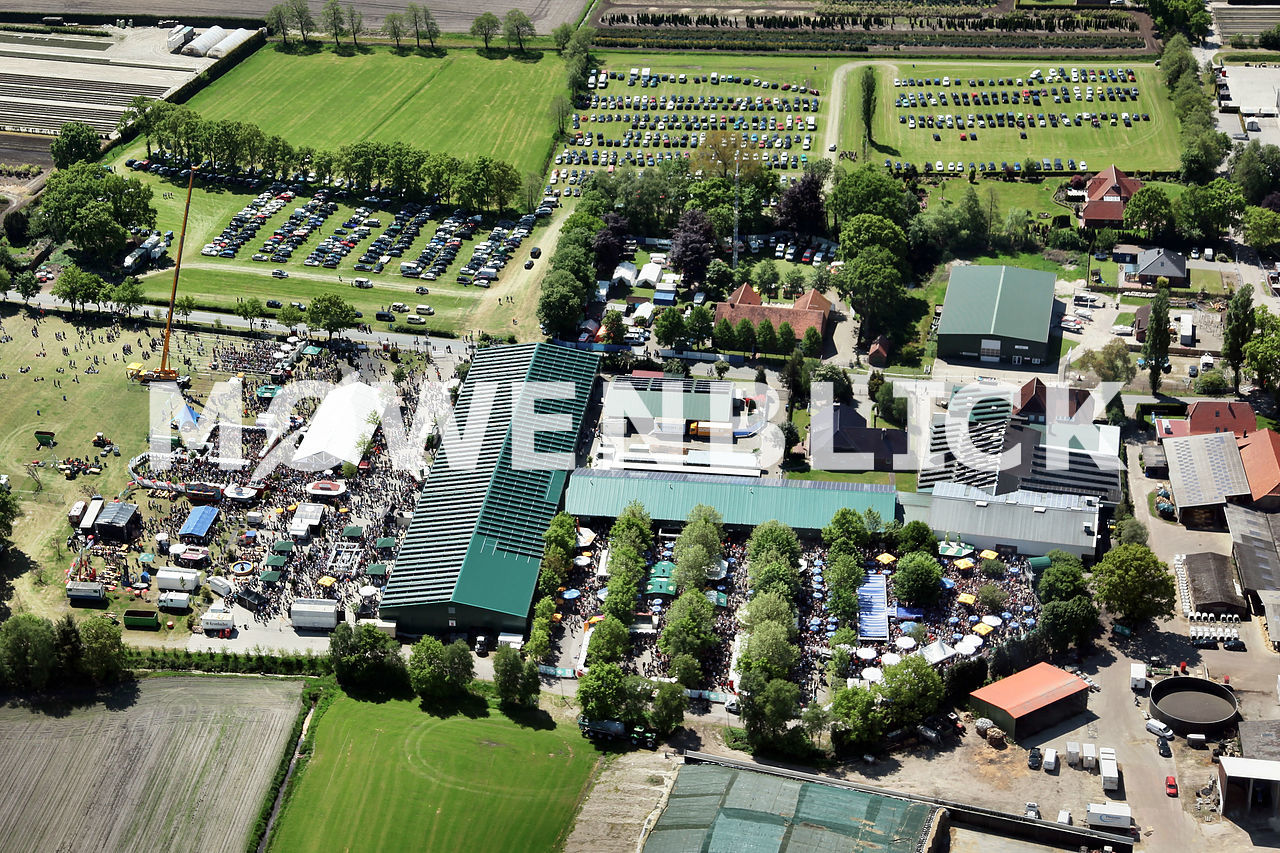 Frühtanz Tange 2016 Luftbild