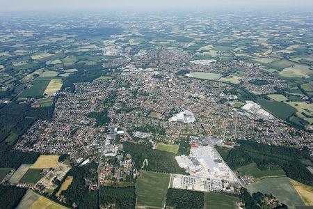 Luftaufnahme Gesamte Stadt