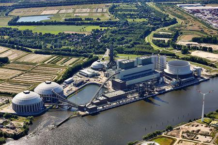 Luftaufnahme Kraftwerk Moorburg