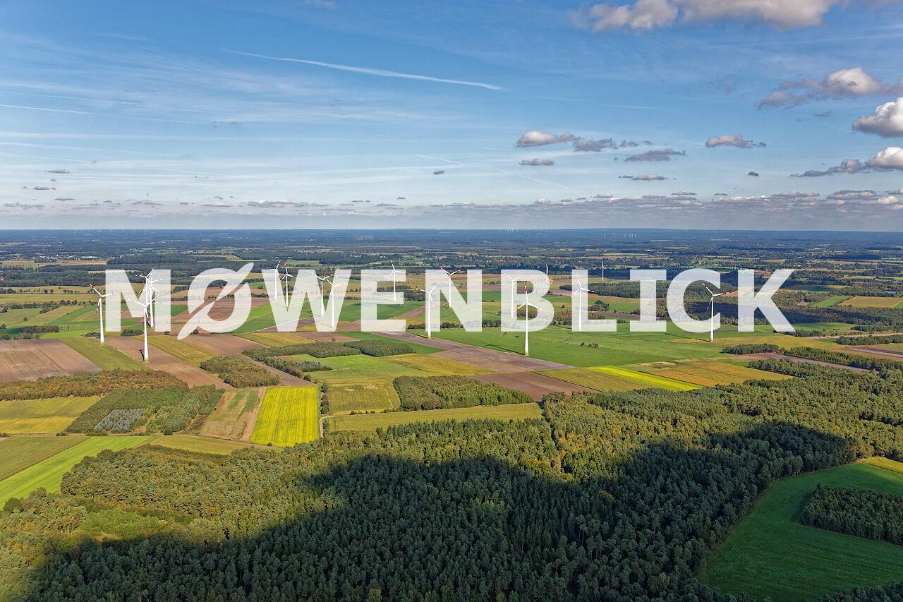 Windpark Luftbild