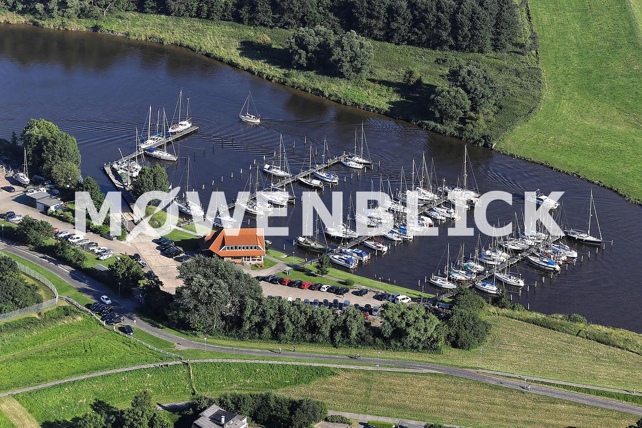 Sportboothafen Luftbild