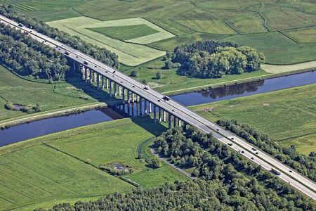 Autobahnbrücke Hunte