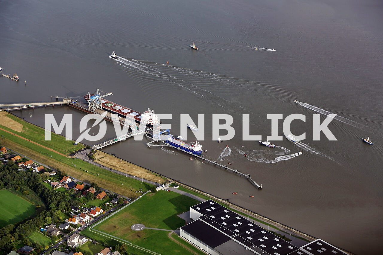 MOX Transport Luftbild