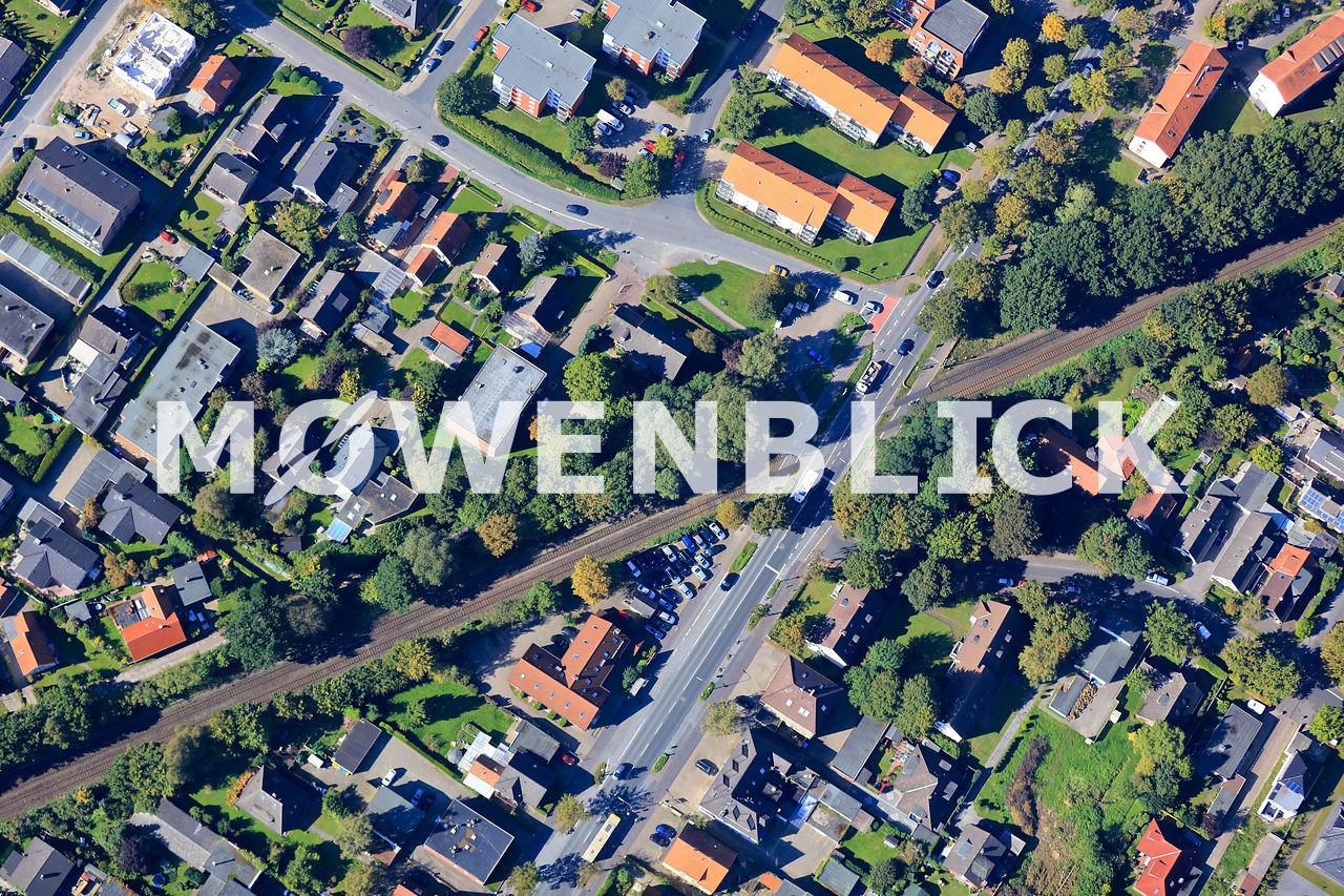 Siebenbürger Straße Luftbild