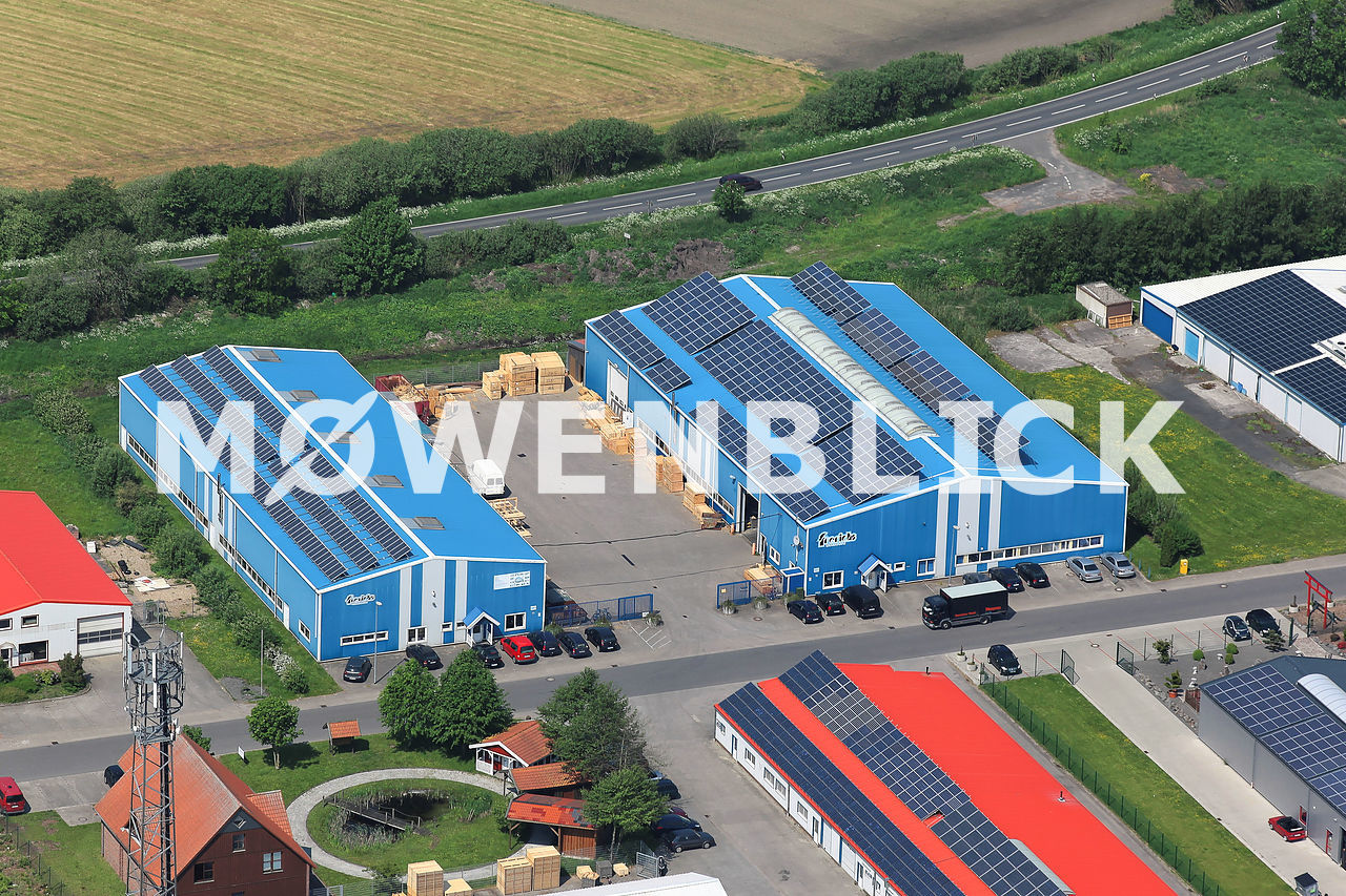Frerichs Holzwerk Luftbild