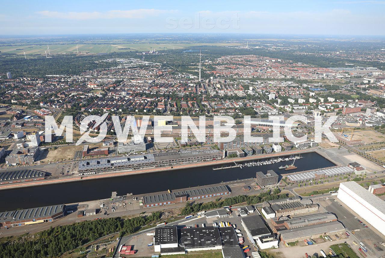 Marina Europahafen Luftbild