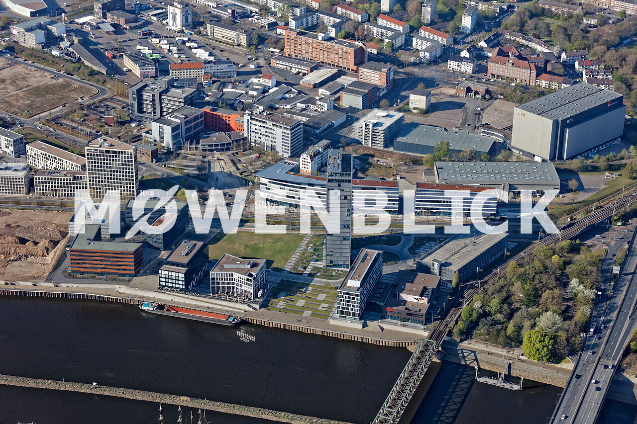 Weser Quartier Luftbild