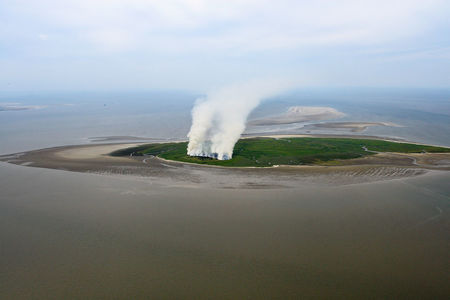 Luftaufnahme Stadt Friesland