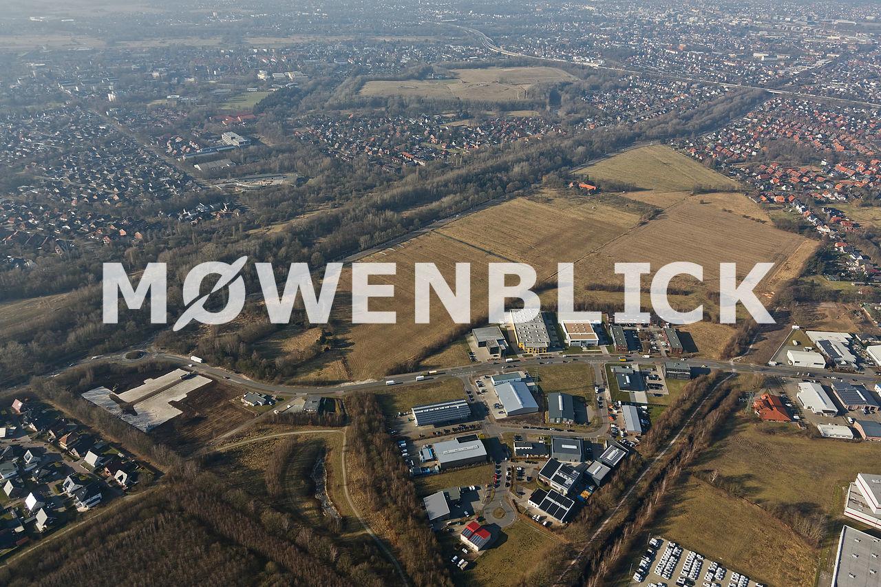 Am Bahndamm Storchweg Luftbild