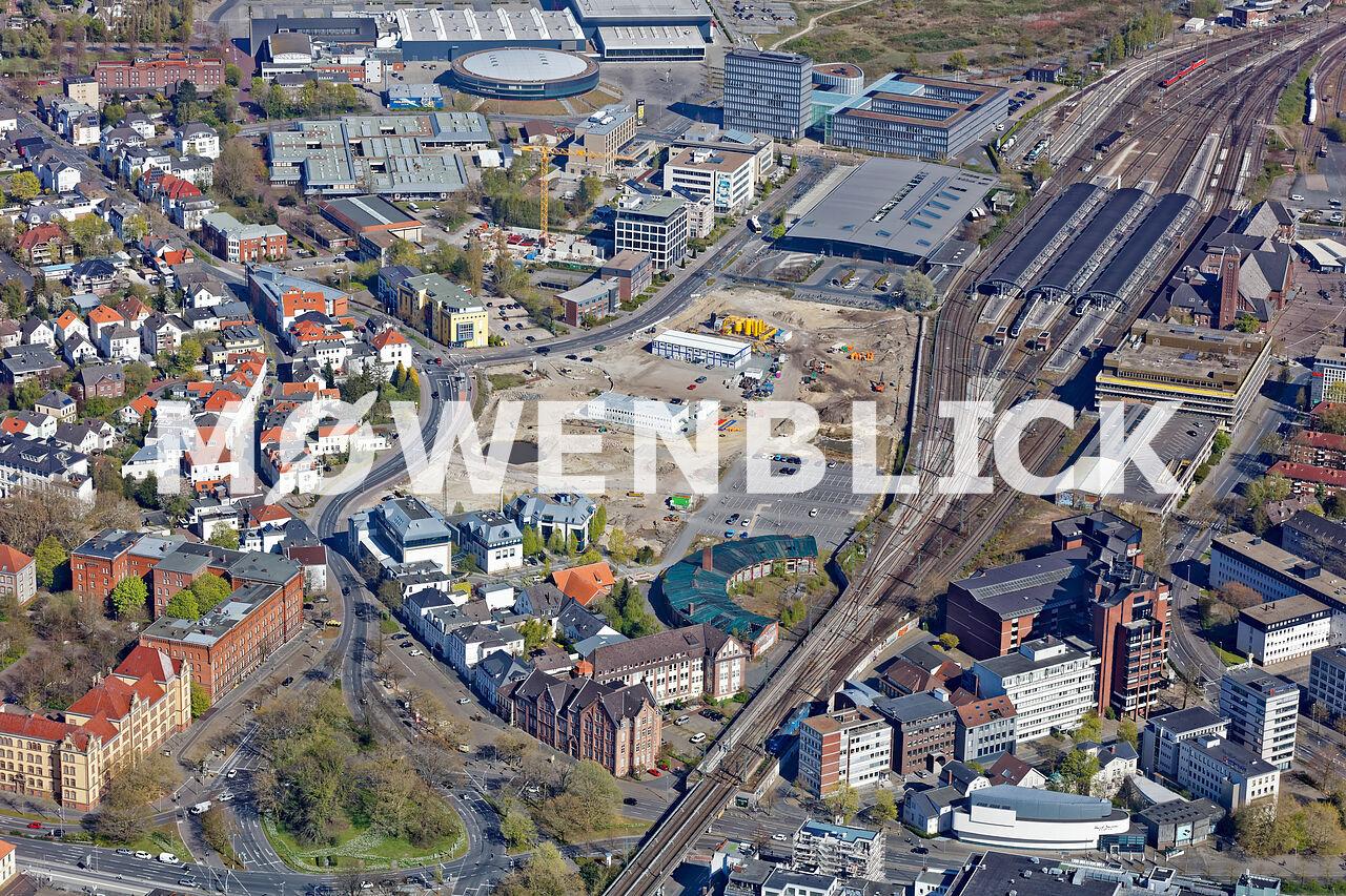 Fläche Oldenburg EWE Luftbild