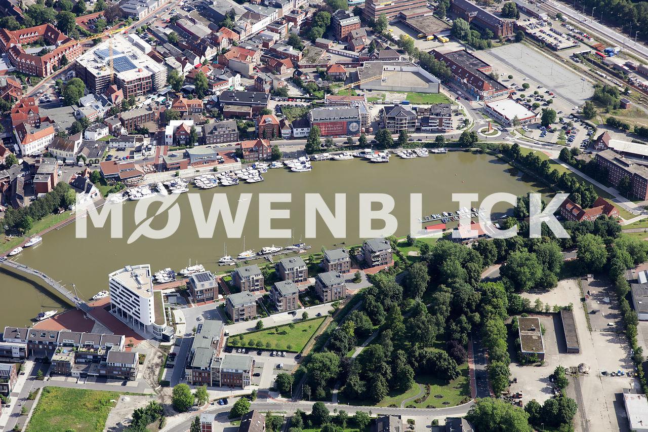 Am alten Handelshafen Luftbild