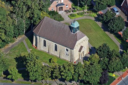 Luftaufnahme St. Marien Kirche