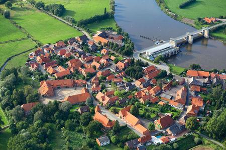 Luftaufnahme Drakenburg