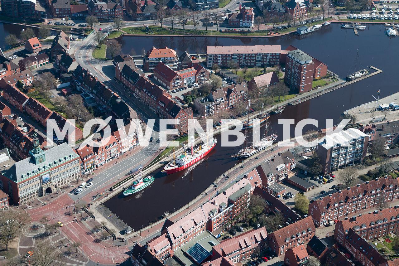 Delft Binnenhafen Luftbild