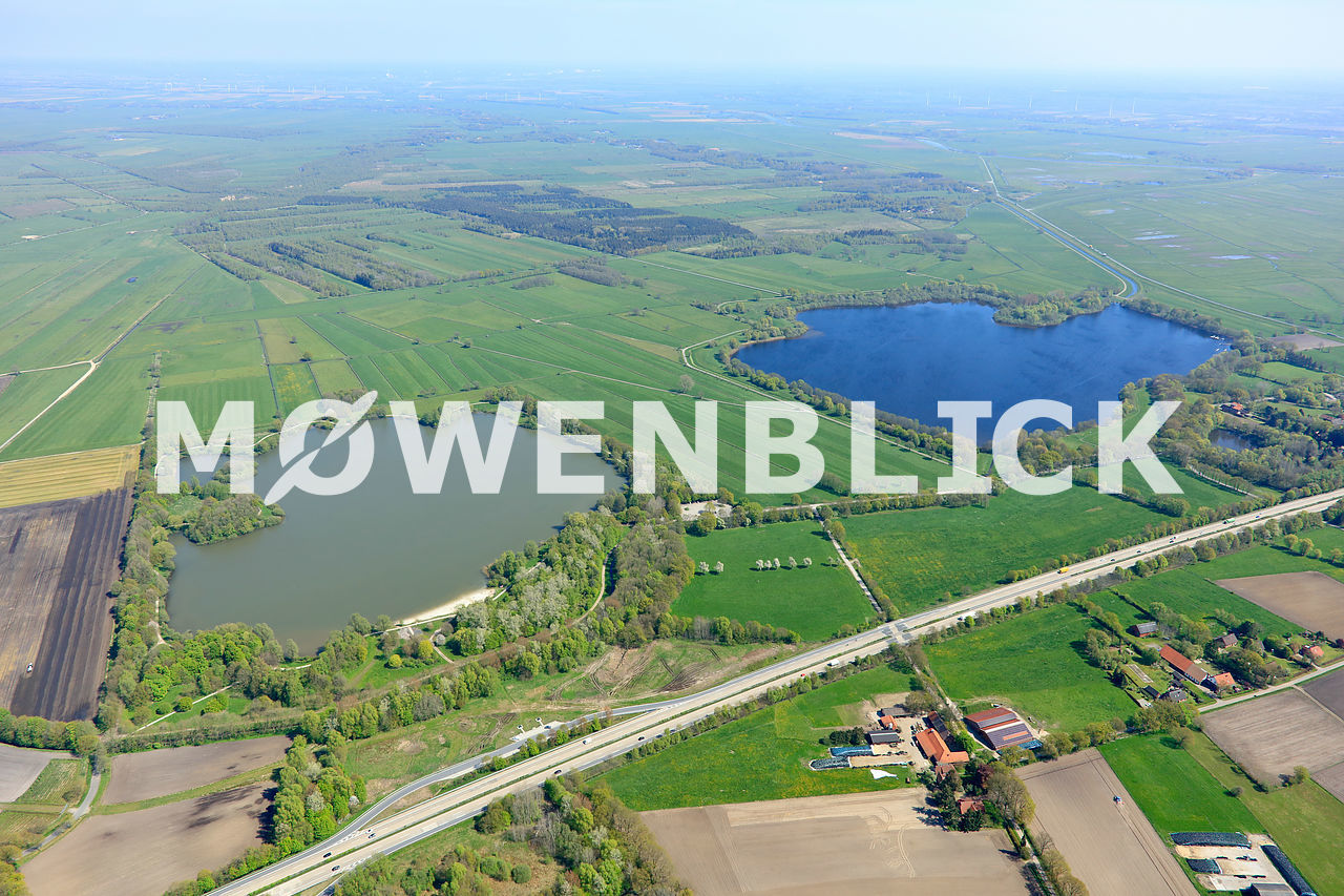 Die Bornhorster Seen Luftbild