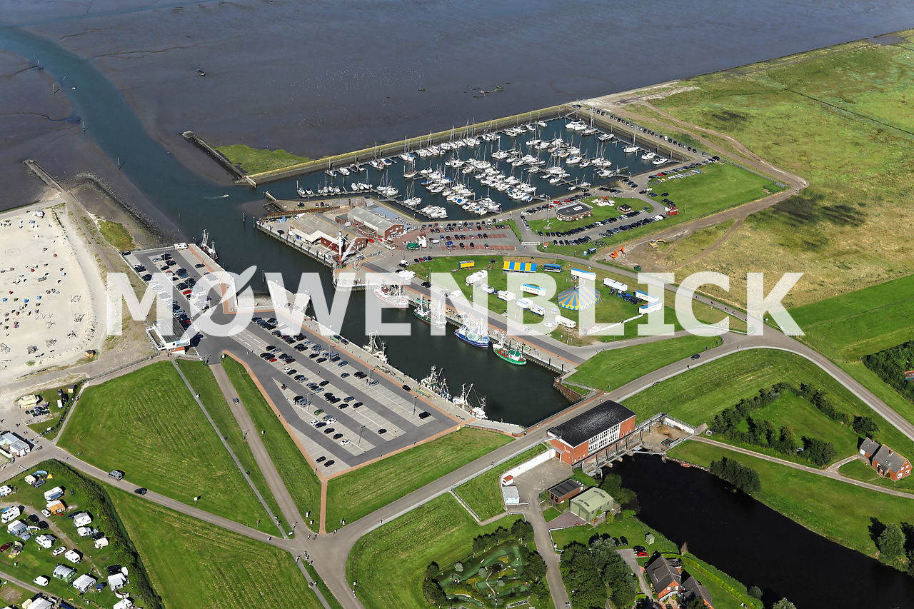 Yachtclub Accumersiel Luftbild