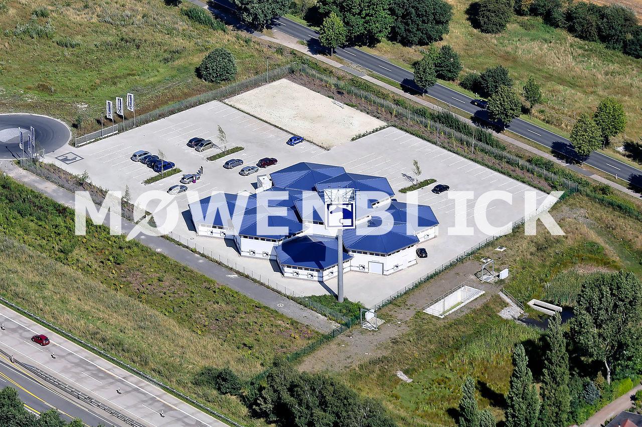 Pferdesport Megastore Luftbild