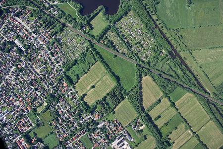 Luftaufnahme Stadtteil