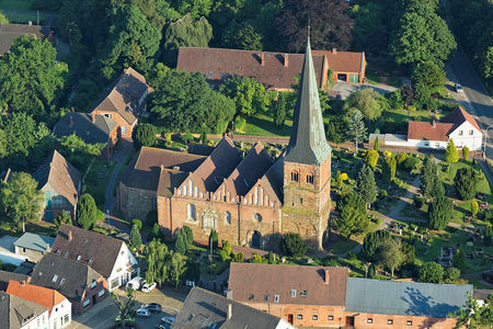 Luftaufnahme St. Aegidius Kirche