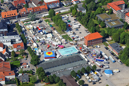 Luftaufnahme Veranstaltung