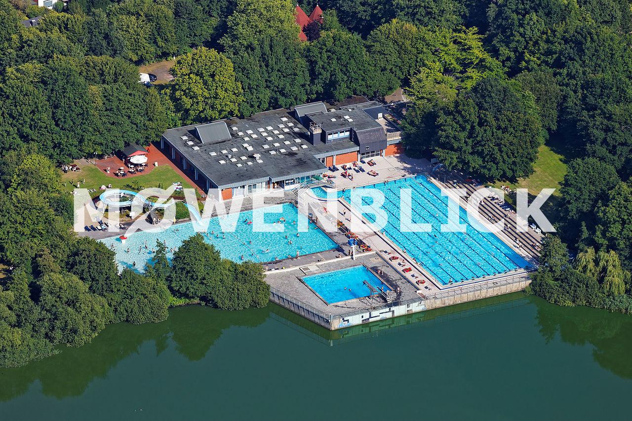 Flötenbad Bürgerfelde Luftbild