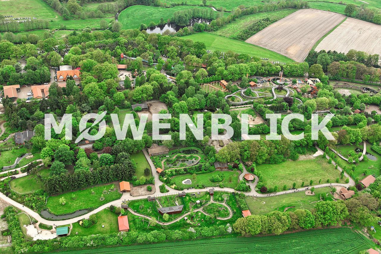 Tier und Freizeitpark Thüle Luftbild