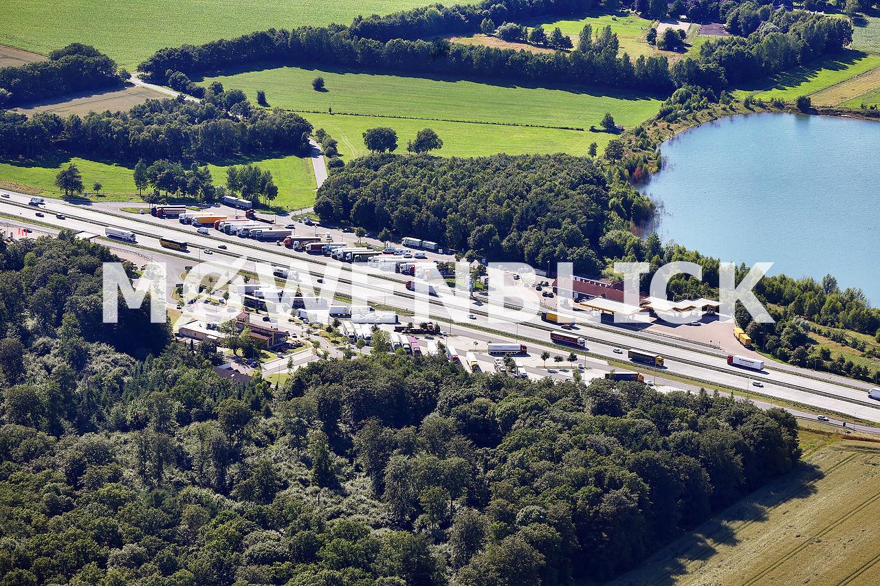 Autobahnraststätte Ostetal Luftbild