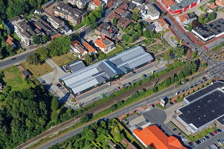 Luftaufnahme Gartencenter Ostmann