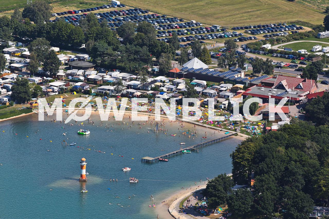 Ferienpark am Bernsteinsee Luftbild