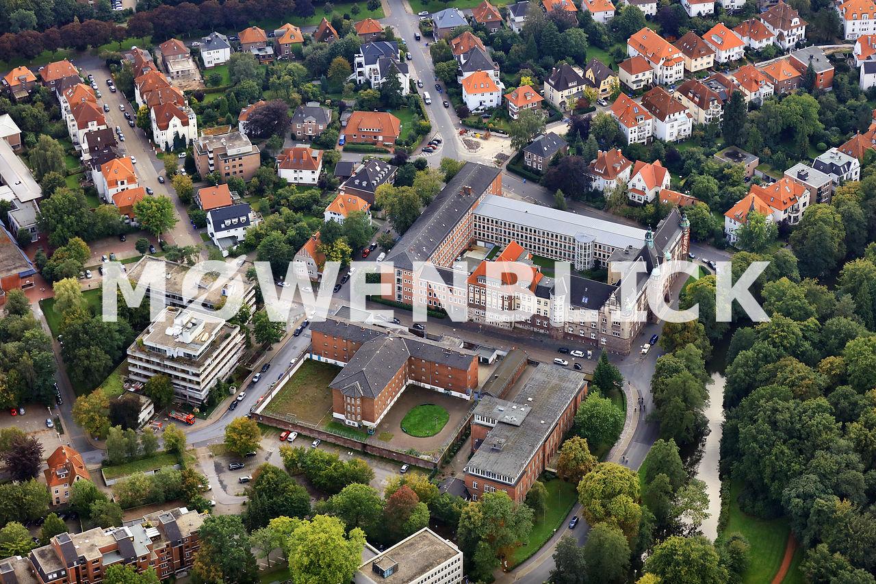 Landgericht Oberlandesgericht Luftbild