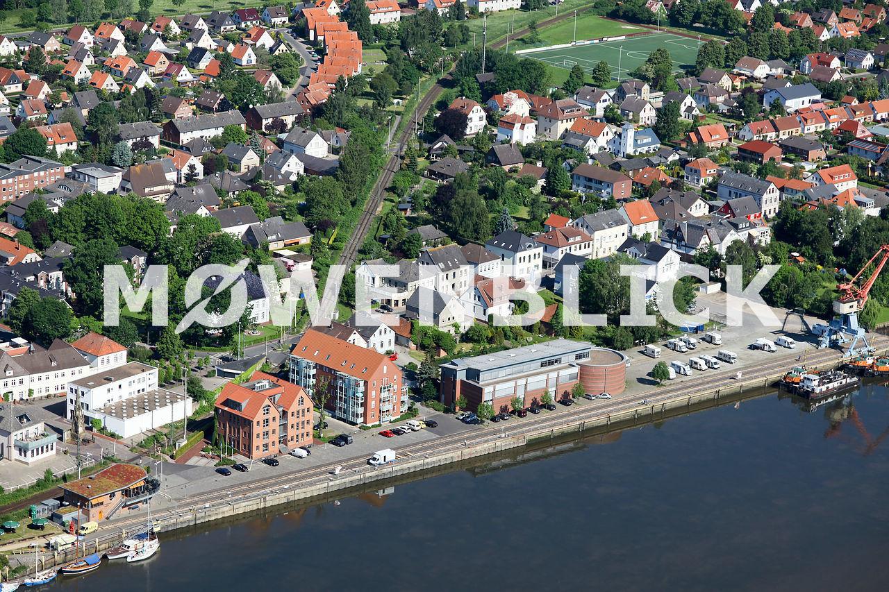 Schifffahrtsmuseum Luftbild