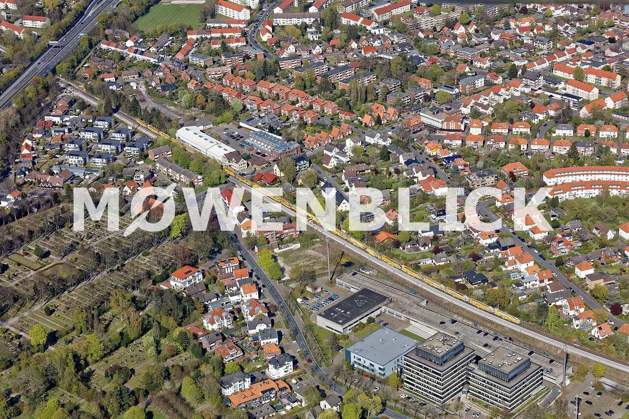 Bahnerneuerung Luftbild