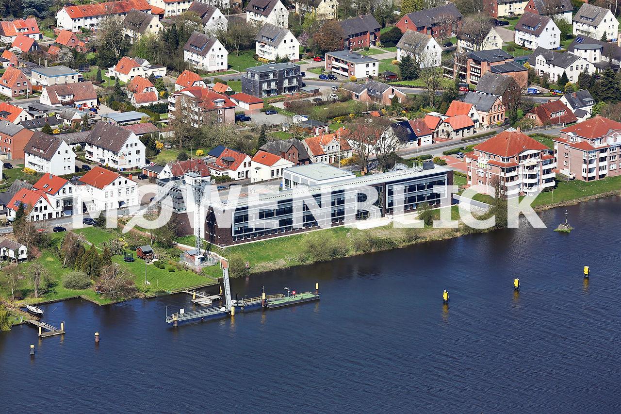 Seefahrtschule Elsfleth Luftbild