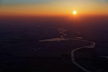 Luftaufnahme Sonne