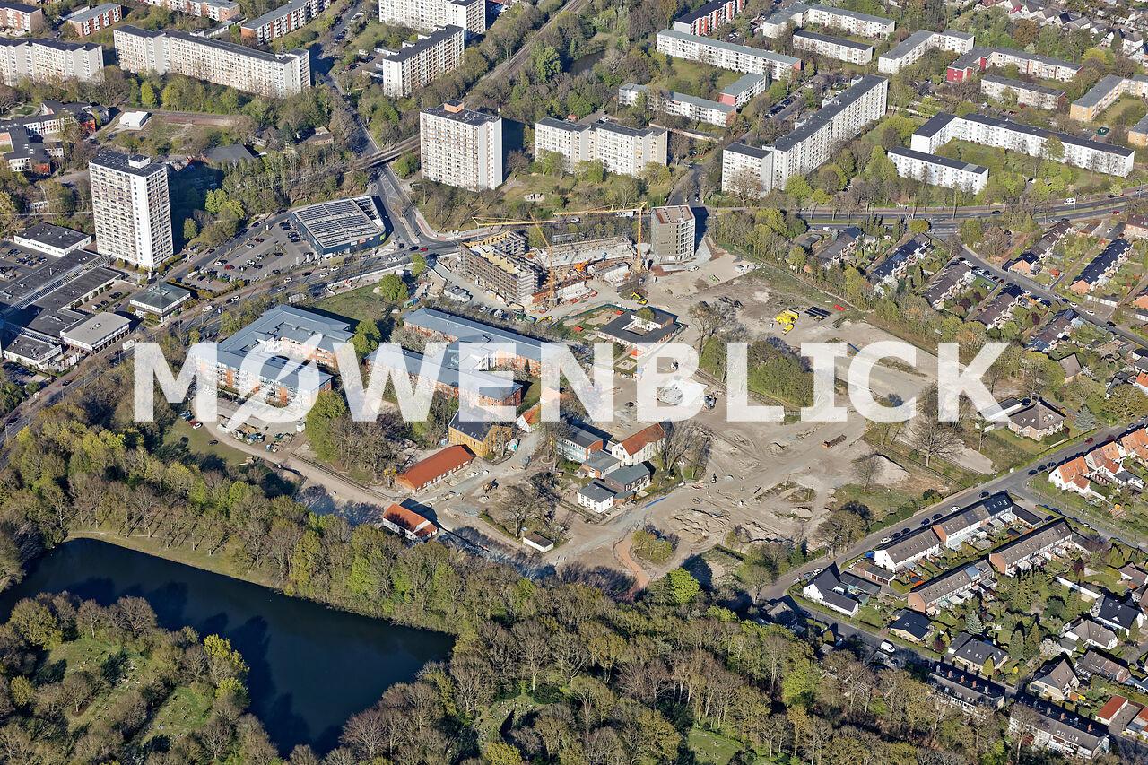 Ellener Hof Hansa Forum Luftbild