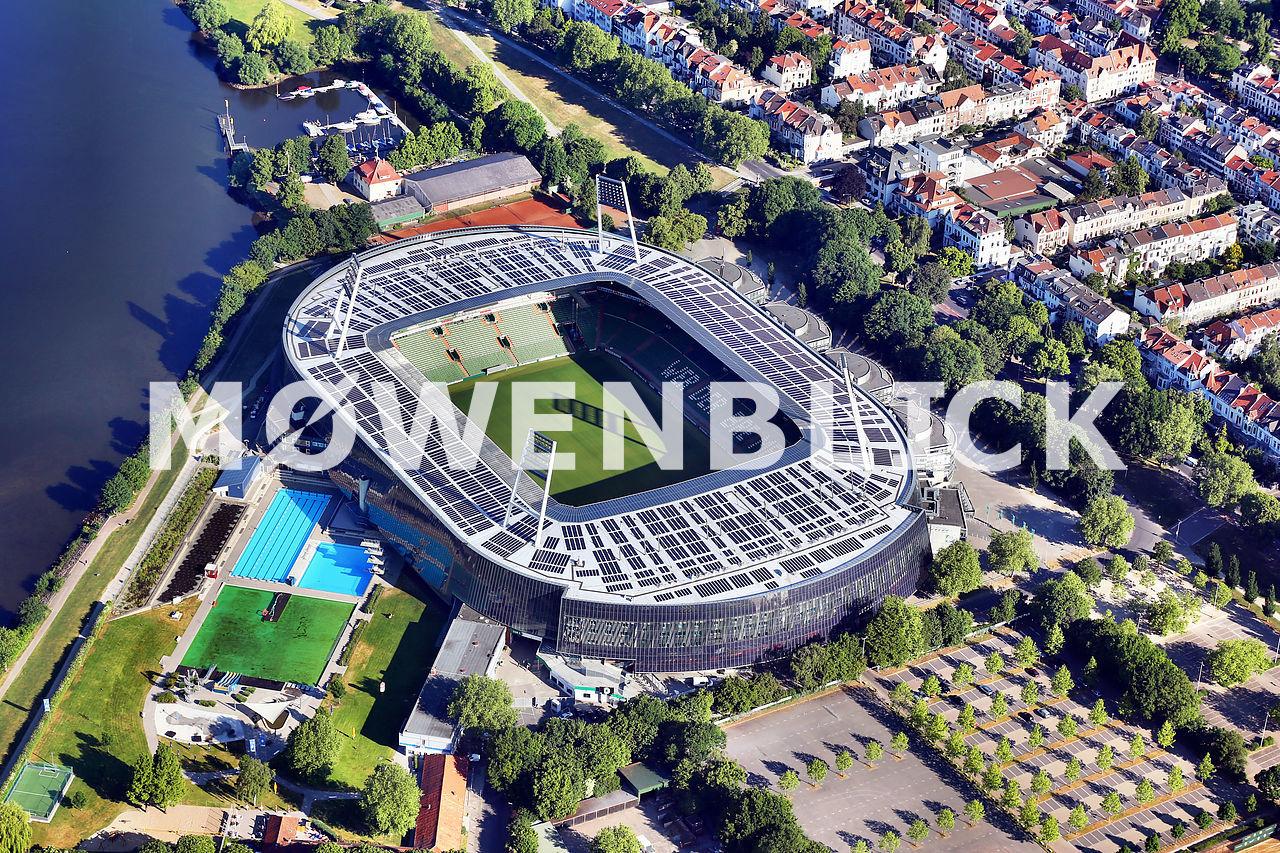 Stadion Luftbild