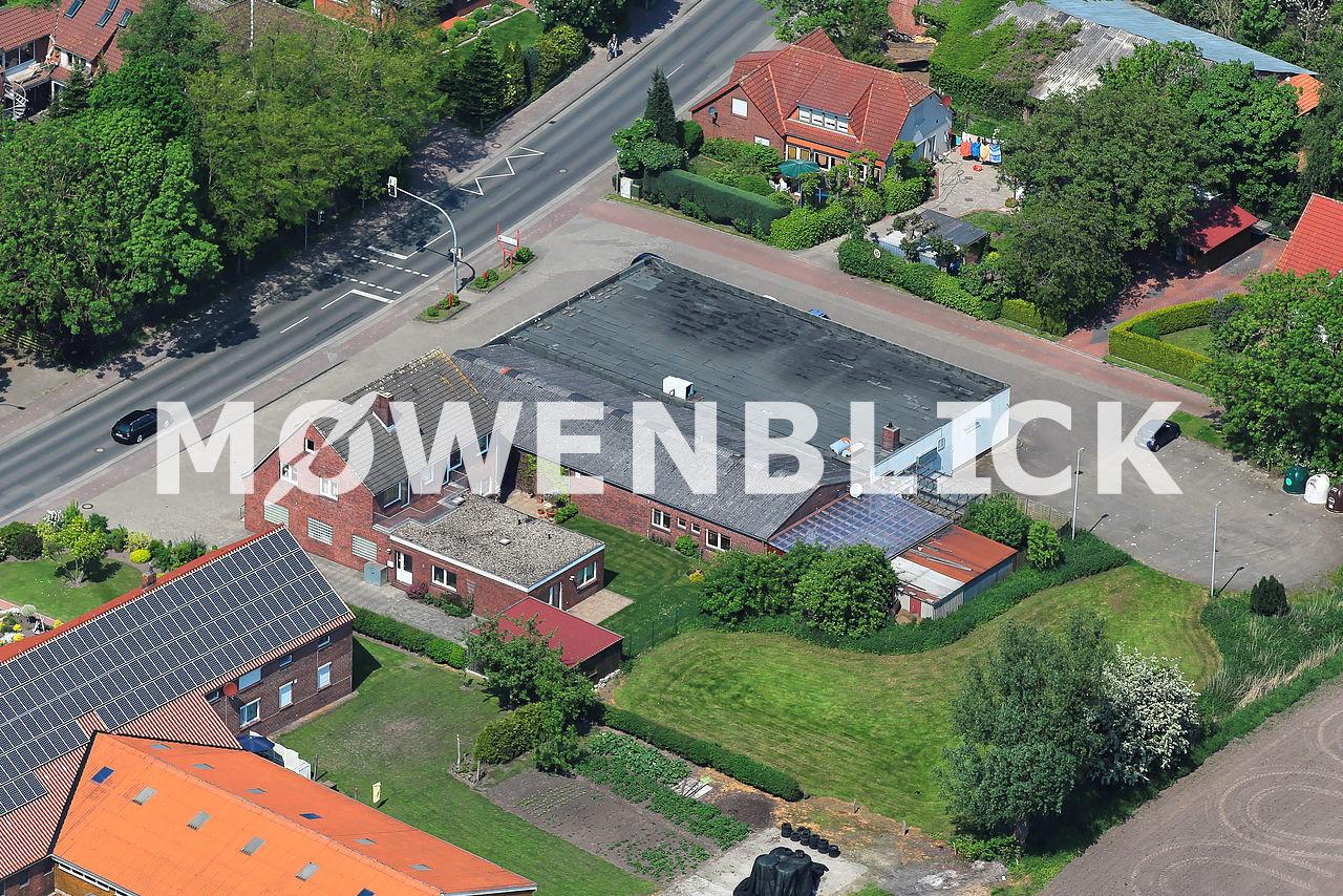 Friesen Apotheke Luftbild