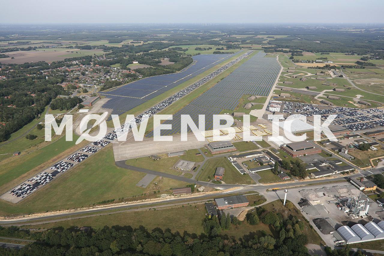 Solarpark Fliegerhorst Luftbild