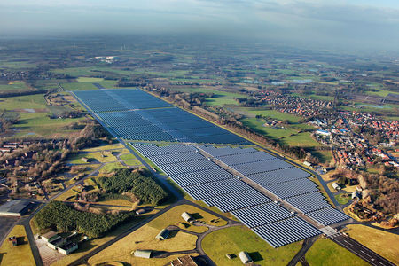 Solarpark Oldenburg  Wiefelstede