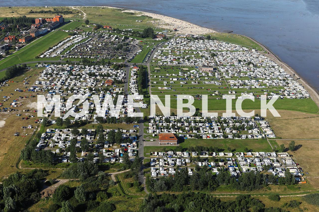 Campingplatz Schillig Luftbild